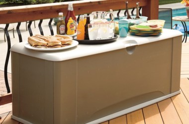 Rubbermaid 121-Gallon Deck Box $114.90 Shipped