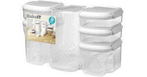 Bake IT Food Storage Containers 9-Piece Set $19.99 (Reg.$39.99)