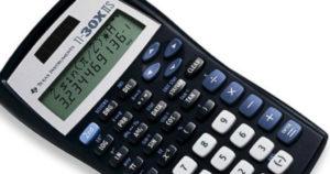 Texas Instruments Scientific Calculator $8.88 Shipped