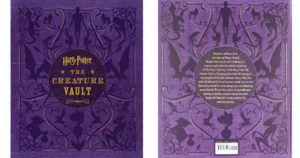 Harry Potter The Creature Vault Hardcover Book $23.23 (Reg. $45)