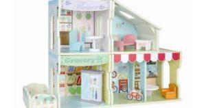 Interchangeable Wooden Dollhouse $24.87  (Reg.$49.97)