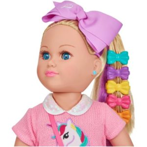 My Life As 18″ Poseable JoJo Siwa Doll, Blonde Hair with a Soft Torso $34.97