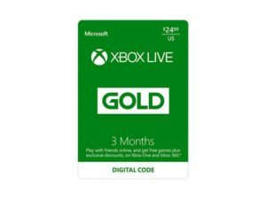 6 months of Xbox LIVE for $21