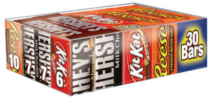 Hershey's Full Size Candy Bar 30-Count Variety Pack $13.49