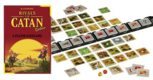 Rivals for Catan Deluxe Card Game $18.95