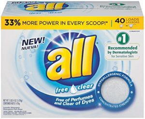 All Free Clear Laundry Detergent 40 Load Box $3.28 Shipped