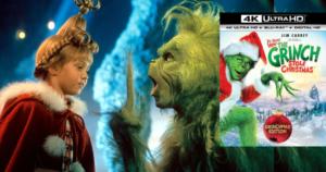 Dr. Seuss' How The Grinch Stole Christmas 4K Ultra HD Blu-ray Combo $9.99 Shipped (Reg.$19.99)