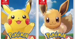 Pokémon Let's Go! Nintendo Switch Games $42.95 Shipped
