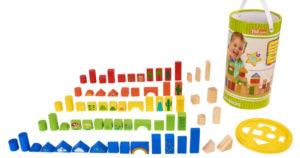 150-Piece Wooden Blocks Set $7.88 (Reg. $19.88)