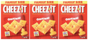 Three Cheez-It Family Size Boxes $6.71 Shipped