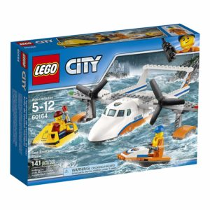 LEGO City Coast Guard Sea Rescue Plane Kit $11.99 Shipped (Reg.$19.99)
