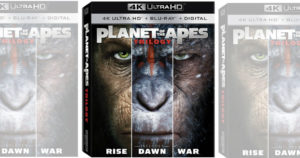RUN!!! Planet of the Apes Trilogy 4K UHD + Blu-ray Combo Pack $16.96 Shipped (Reg.$34.96)