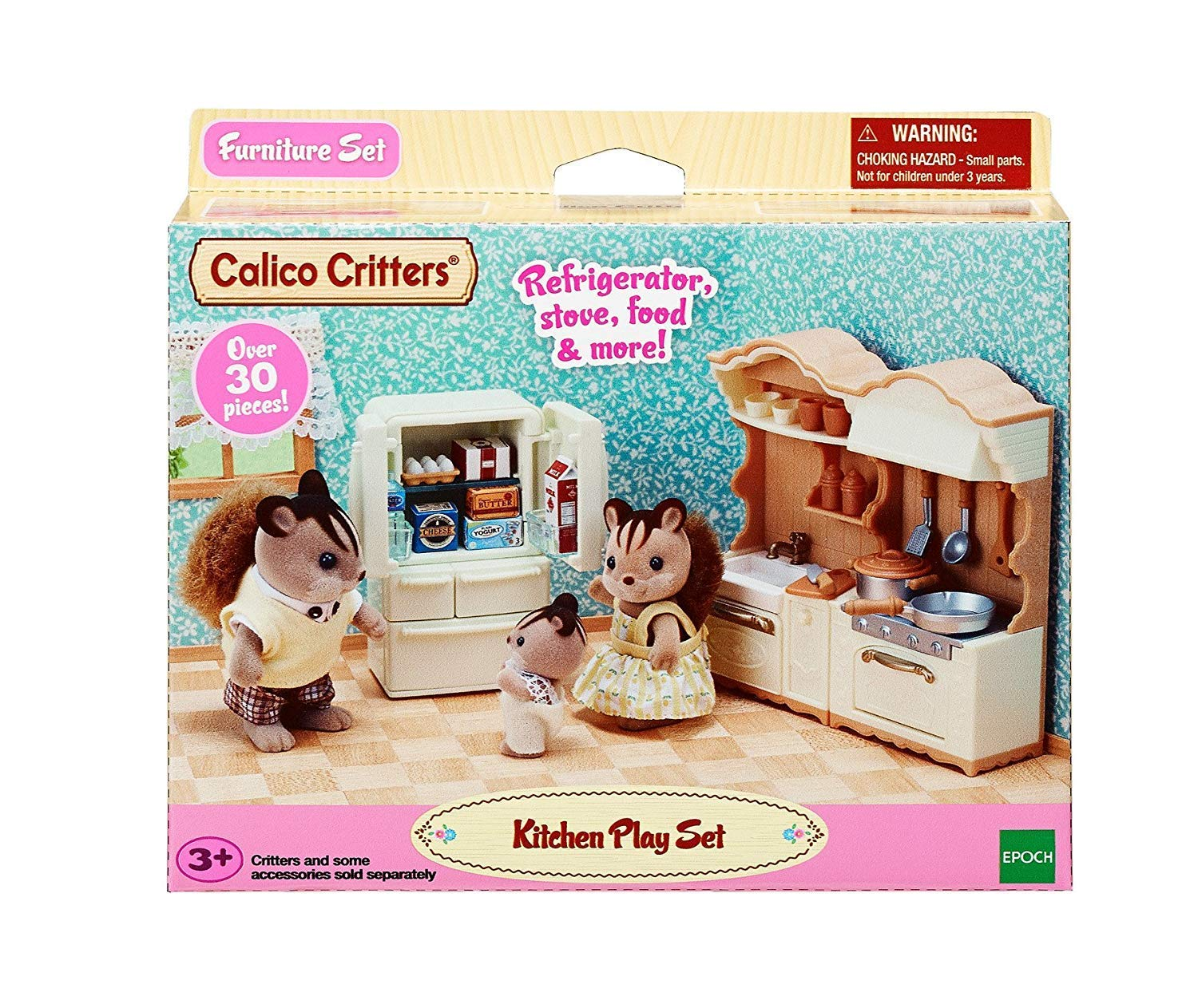 Calico Critters Kitchen Play Set $4.77 (Reg.$19.95